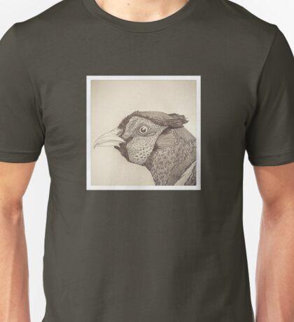 Pheasant Doodle Unisex T-Shirt