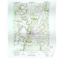 New York NY Geneseo 129488 1950 24000 Poster