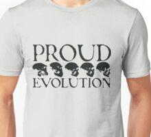 Proud Evolution Skull Unisex T-Shirt