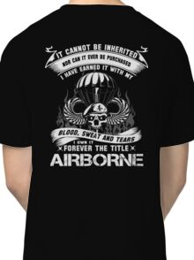airborne infantry mom airborne jump wings airborne badge airborne brot Classic T-Shirt