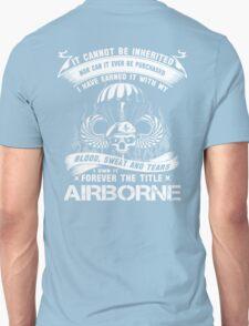 airborne infantry mom airborne jump wings airborne badge airborne brot Unisex T-Shirt