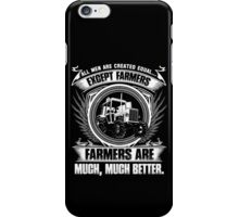 stupid farmer Bird farmer mom piglet farmer farmer wave farmer kids fa iPhone Case/Skin