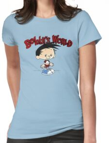 Bobbys World Cartoon Womens Fitted T-Shirt