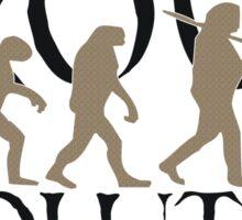 Proud Evolution Man Sticker