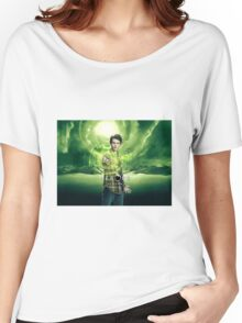 Saving The World - Nathan Women's Relaxed Fit T-Shirt