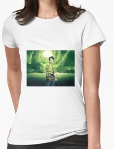 Saving The World - Nathan Womens Fitted T-Shirt