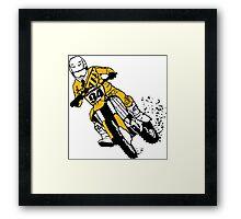 Supercross SX Motorcycle Framed Print