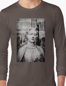 Angel set in stone Long Sleeve T-Shirt