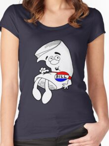 Just Bill School House Of Rock Women's Fitted Scoop T-Shirt