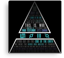 30 Seconds To Mars Canvas Print