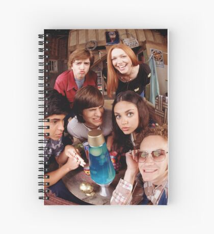 """DAMN IT JACKIE!"" Spiral Notebook"