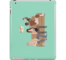 Even Superheroes Need Breaks iPad Case/Skin