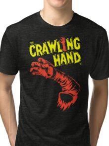 Crawling hand title Tri-blend T-Shirt