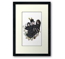 Black Butler : Sebastiand and Undertaker Framed Print