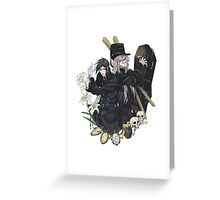 Black Butler : Sebastiand and Undertaker Greeting Card
