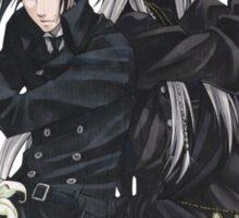 Black Butler : Sebastiand and Undertaker Sticker
