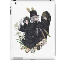 Black Butler : Sebastiand and Undertaker iPad Case/Skin