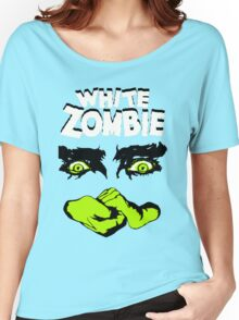 White Zombie title Women's Relaxed Fit T-Shirt