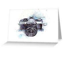 Minolta camera Greeting Card
