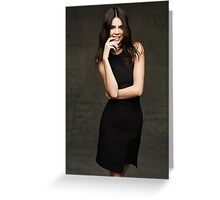Kendall Jenner Smile Greeting Card
