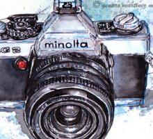Minolta camera Sticker