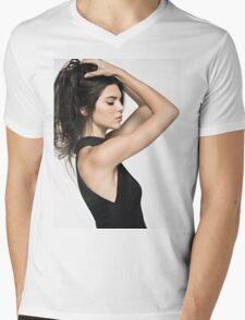 Kendall Jenner Hair 2 Mens V-Neck T-Shirt