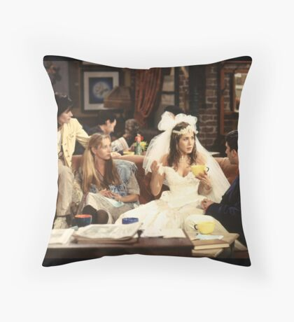 The One Where It All Began Throw Pillow