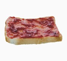 Strawberry Jam on Toast One Piece - Long Sleeve