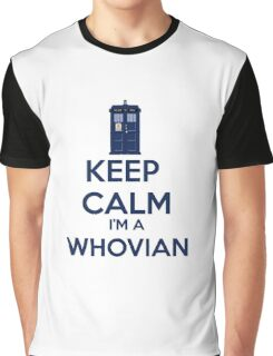 Keep Calm i'm a whovian Graphic T-Shirt
