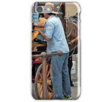 Carriage Man iPhone Case/Skin