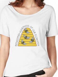 Beekeepers, Guardians of our Ecosystem Women's Relaxed Fit T-Shirt