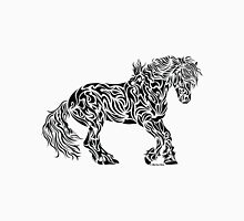 The Friesian - Abstract, Tribal Horse Art T-Shirt