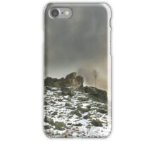 Ominous Clouds Over Beacon Hill, Leicestershire. iPhone Case/Skin