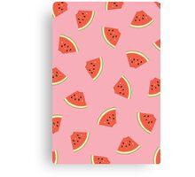 Slice of Life Watermelon Canvas Print