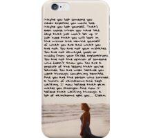 Clean Speech iPhone Case/Skin