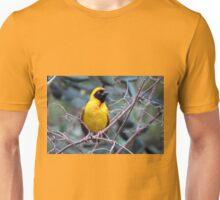 Swartkeelvink / Masked weaver Unisex T-Shirt