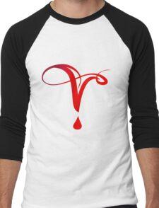 Vampire Diaries Symbol Men's Baseball ¾ T-Shirt