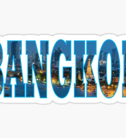 Bangkok Sticker