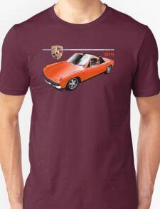 Porsche 914 Red T-Shirt