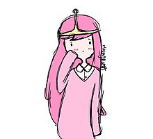 Adventure Time- Princess Bubblegum Photographic Print