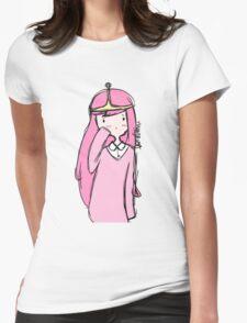 Adventure Time- Princess Bubblegum Womens Fitted T-Shirt