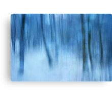 Winter forest impression 2 Canvas Print