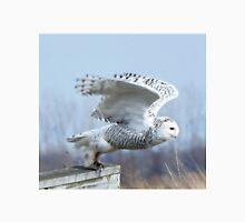 Snow owl Takeoff Unisex T-Shirt