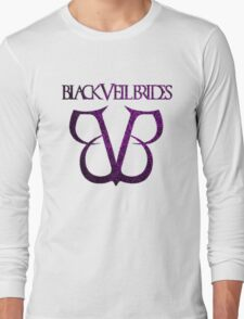 Black Veil Brides Logo Long Sleeve T-Shirt