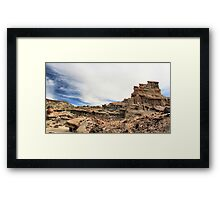 Red Rock Canyon-Nightmare Gulch Framed Print