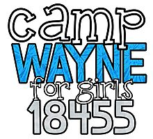 Camp Wayne for Girls 18455 Photographic Print