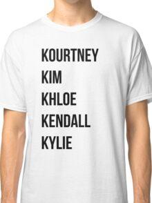 Kardashians Classic T-Shirt