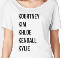 Kardashians Women's Relaxed Fit T-Shirt