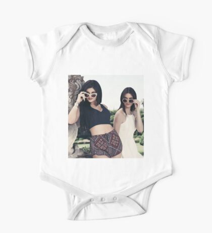 Kendall and Kylie Jenner Shades One Piece - Short Sleeve