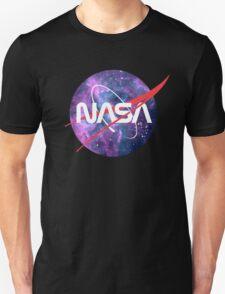 NASA Retro Nebula Logo T-Shirt